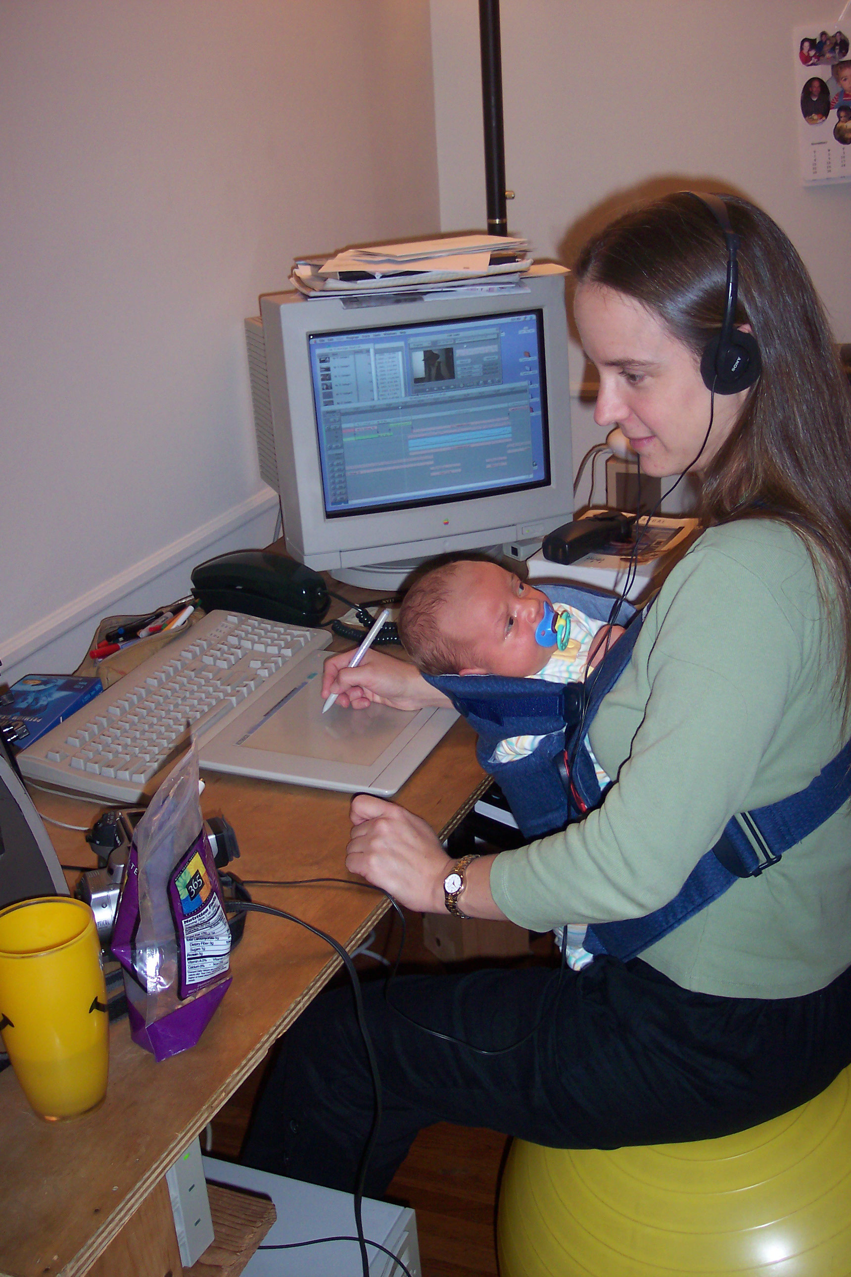 Monika Petrillo editing seven years later.jpg