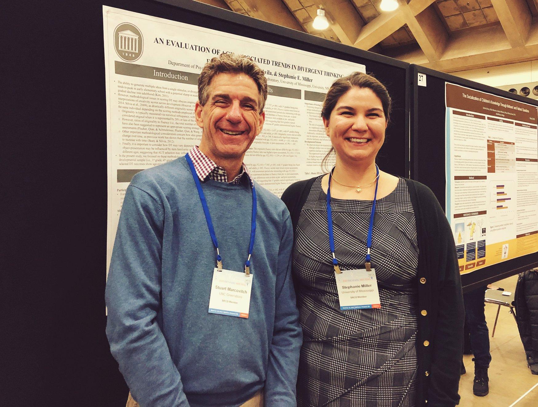 Dr. Stuart Marcovitch & DUCK alumna Dr. Stephanie Miller