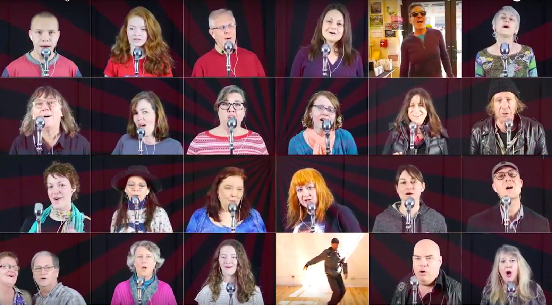 Communal singing