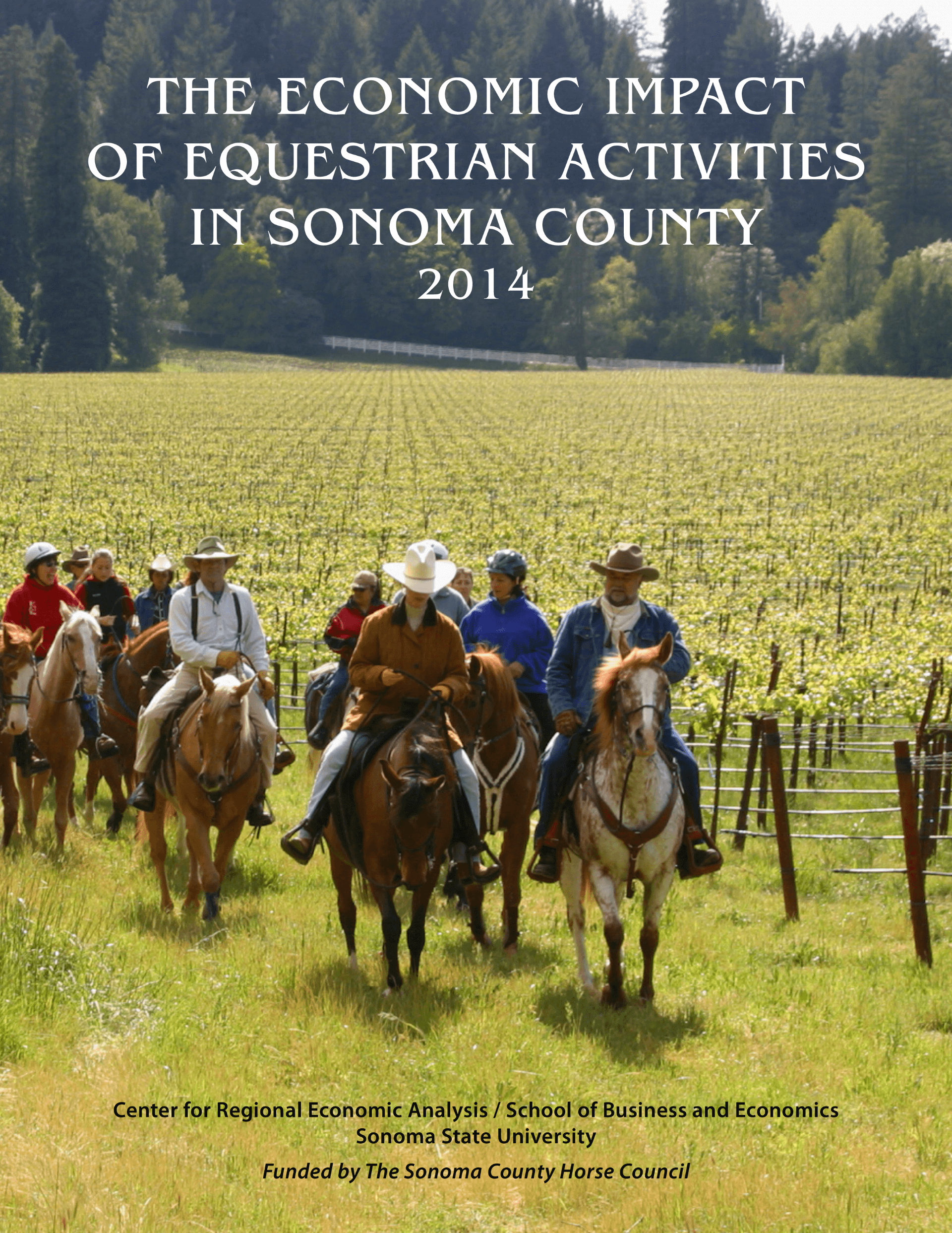 ECONOMIC IMPACT OF EQUESTRIAN ACTIVITIES IN SONOMA COUNTY