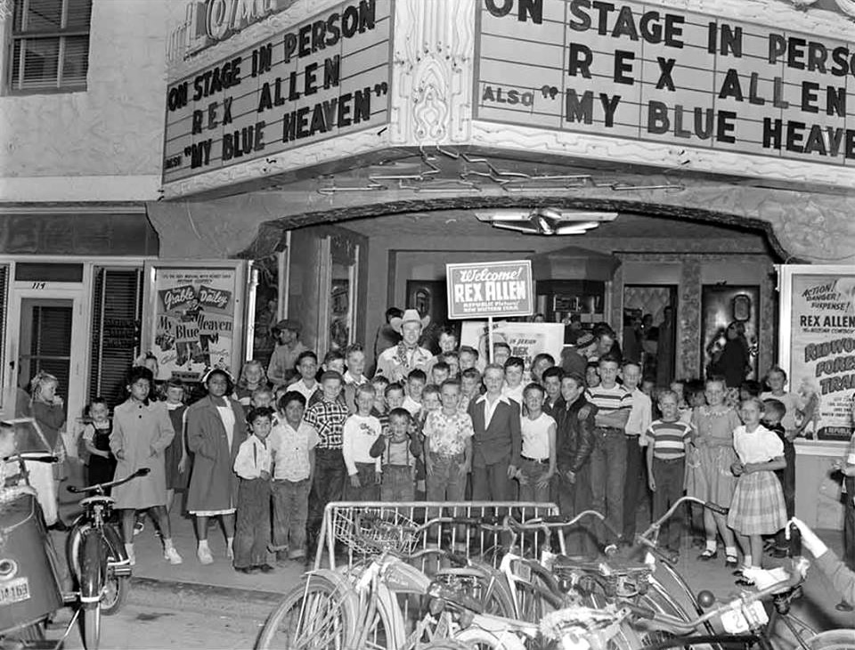 Rex Allen Live at the Lompoc Theatre