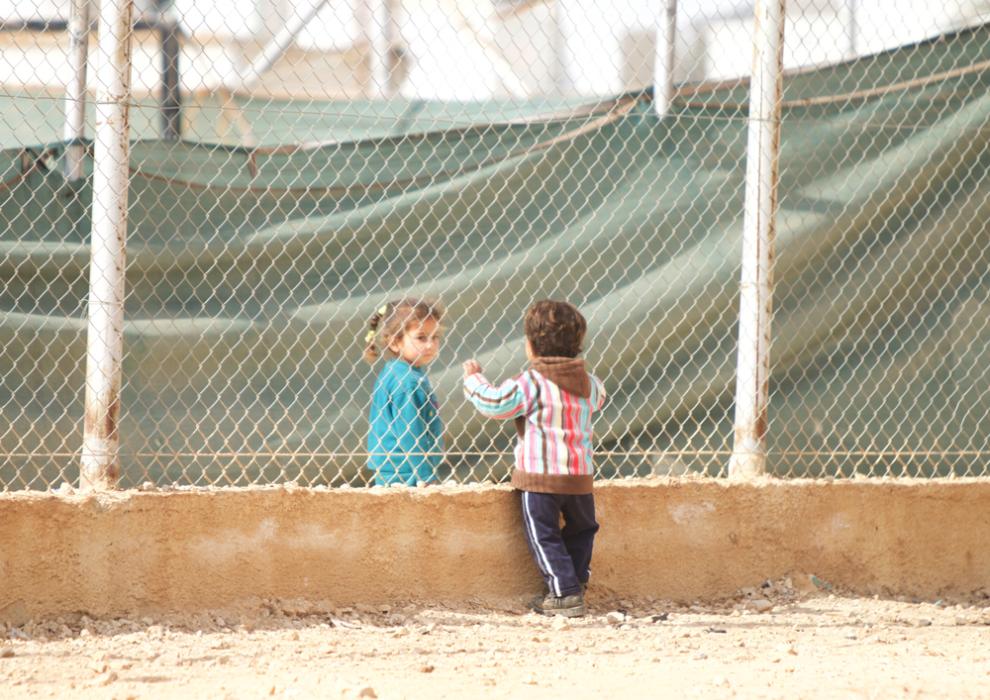 Syrian children love story