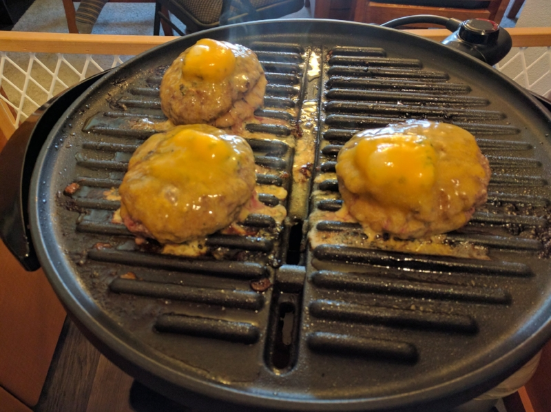 Delicious butter burgers. Mmm...
