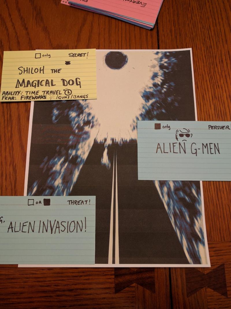 Shiloh vs the Aliens! Oh noes!