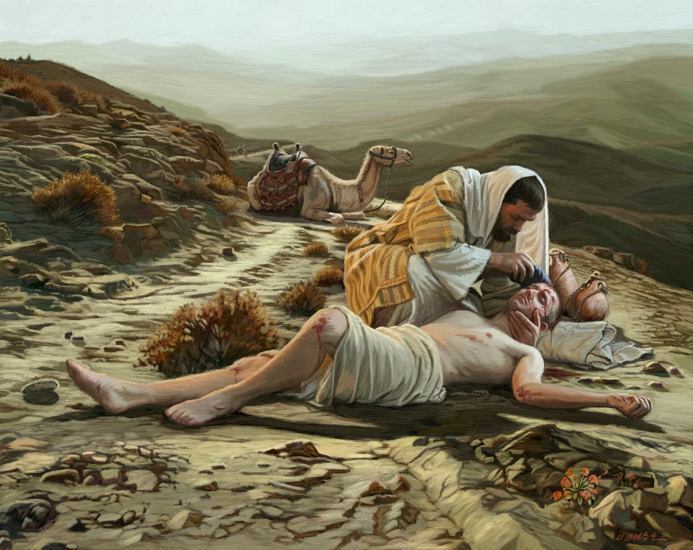 https://providencemag.com/2016/06/neighbor-lessons-good-samaritan/ .Photo Credit:Homily: The Good Samaritan via frilloblog.com