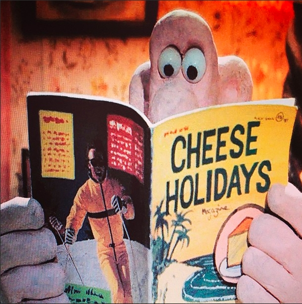 Me and  Wallace  agree on this point, cheese is one of the greatest joys in life.