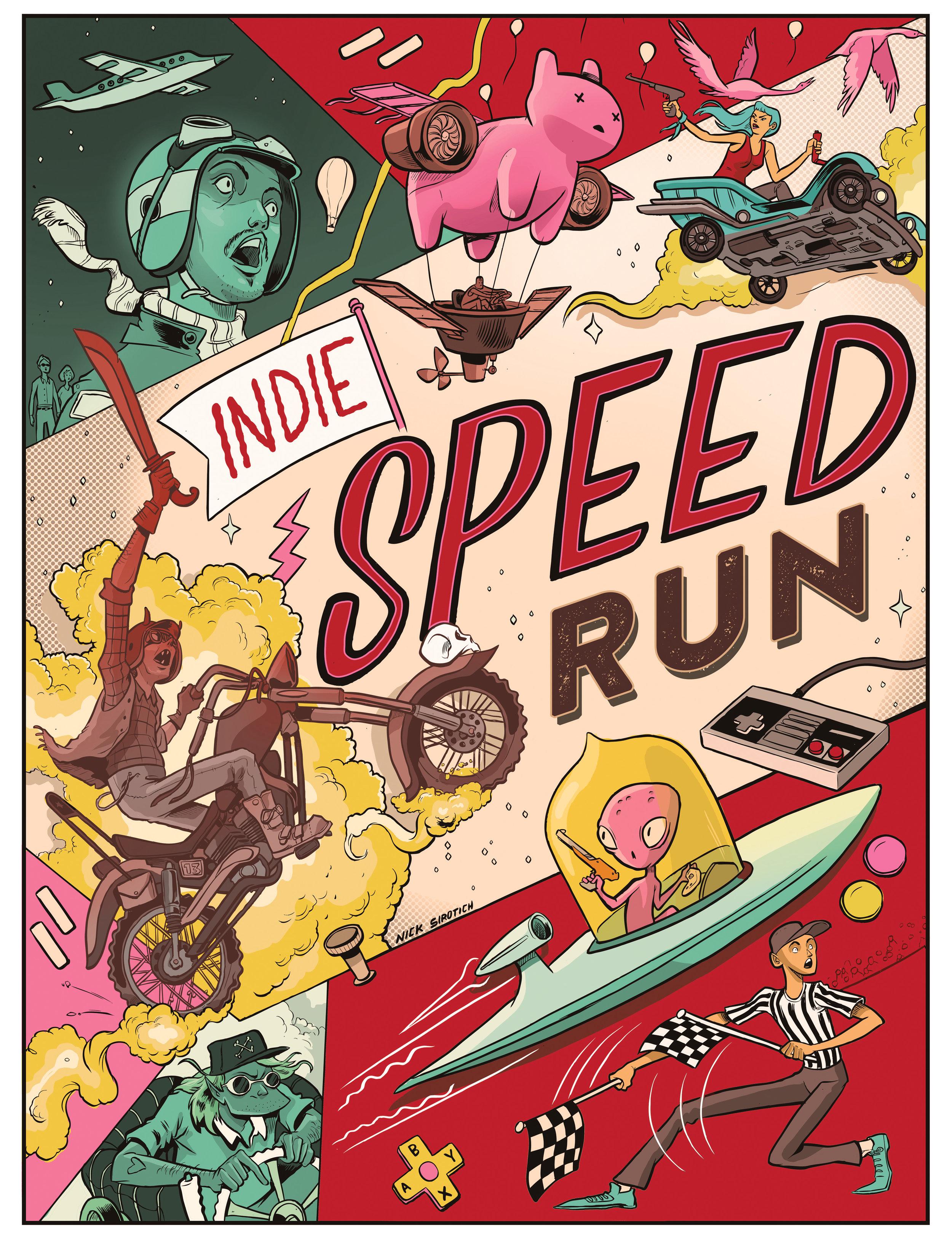 Indie Speed Run  , 2015