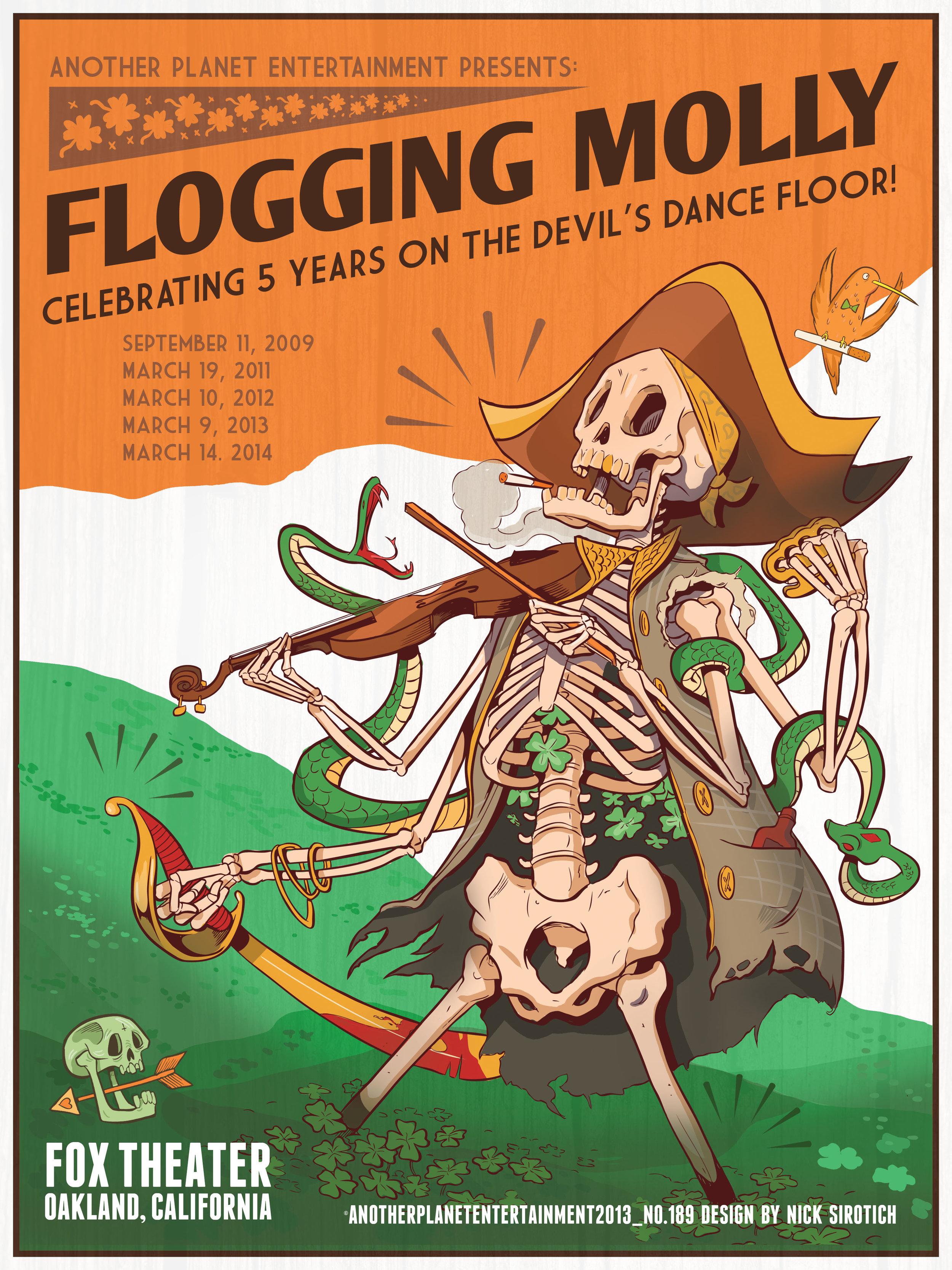 Flogging Molly , Fox Theatre, 2014