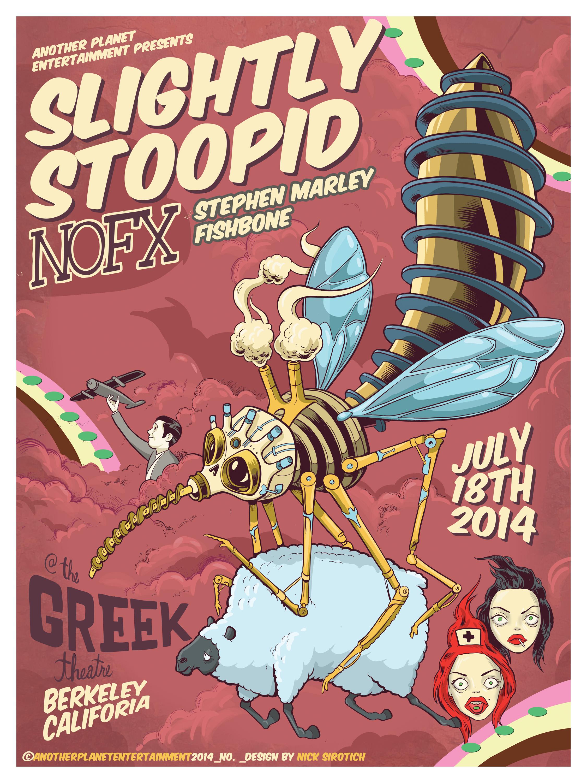 Slightly Stoopid/ NOFX  , Greek Theatre, 2014