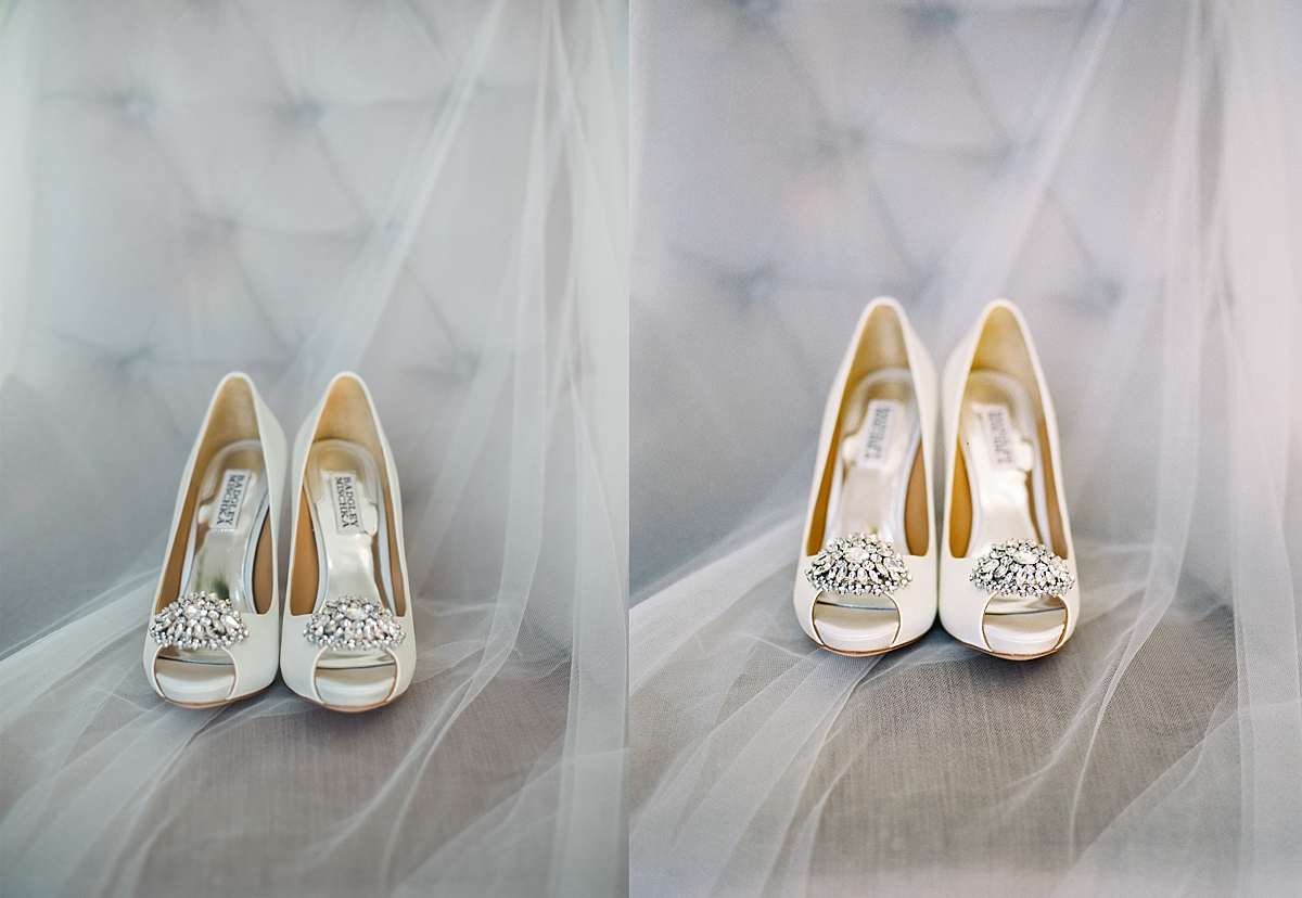 The reason I love the film image in this comparison is how well it softened the veil while keeping the shoes so crisp.  I also love the tones and colors.