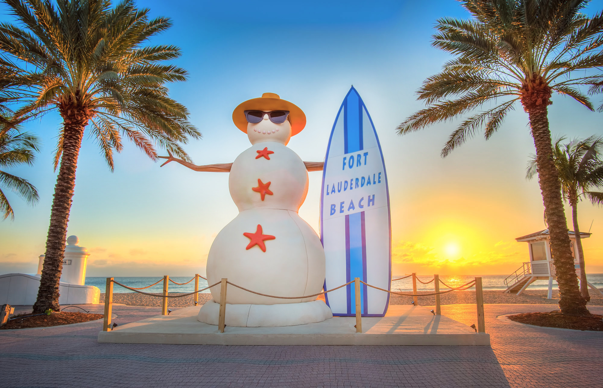Christmas on Las Olas and Fort Lauderdale Beach