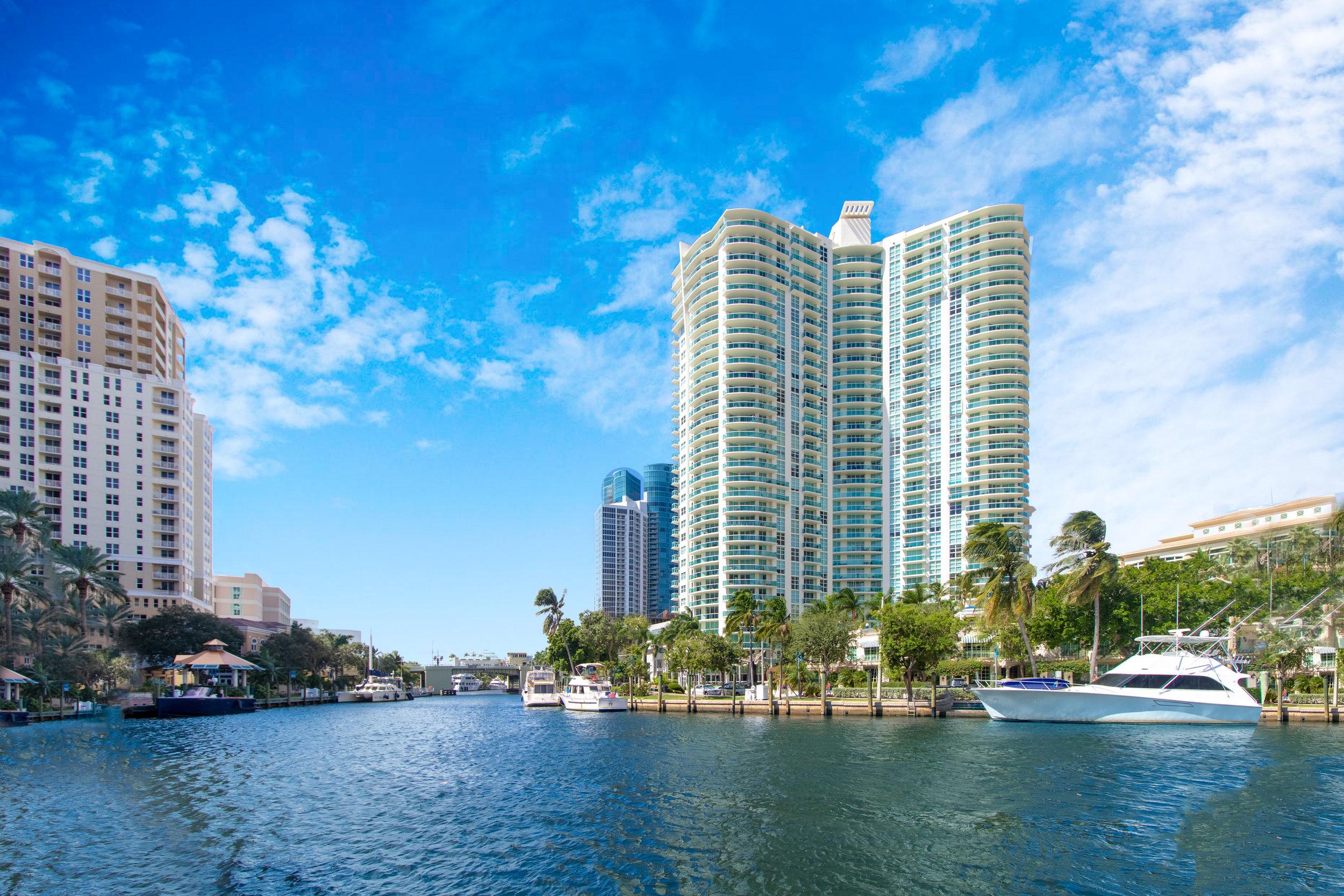The WaterGarden at Las Olas Boulevard - 347 N New River Drive East Fort Lauderdale, FL 33301