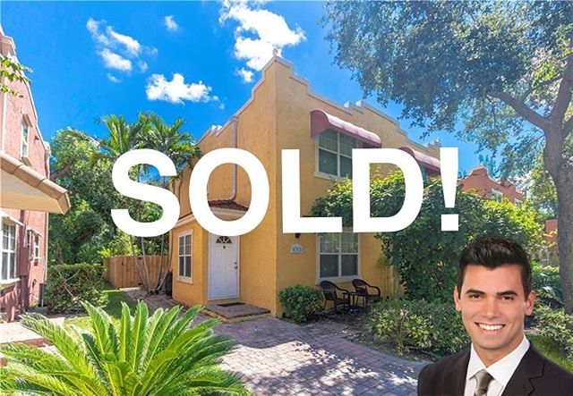 SOLD! One of my favorite little properties I've had listed for the last couple of months is finally sold! The sellers truly could not have been more cooperative and pleasant to work with! I am so happy for them and their new venture!  Alex Smythe Realty 954-471-9098 www.AlexSmytheRealty.com  #lasolas #fortlauderdalerealestate #fortlauderdale #progressovillage #florida #justsold #sold #realestate #realtor #closings #southflorida #brightline #oldprogresso #alexsmythe #alexsmytherealty #dangelorealty