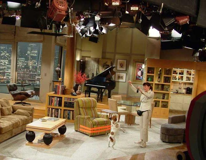 on the set of frasier