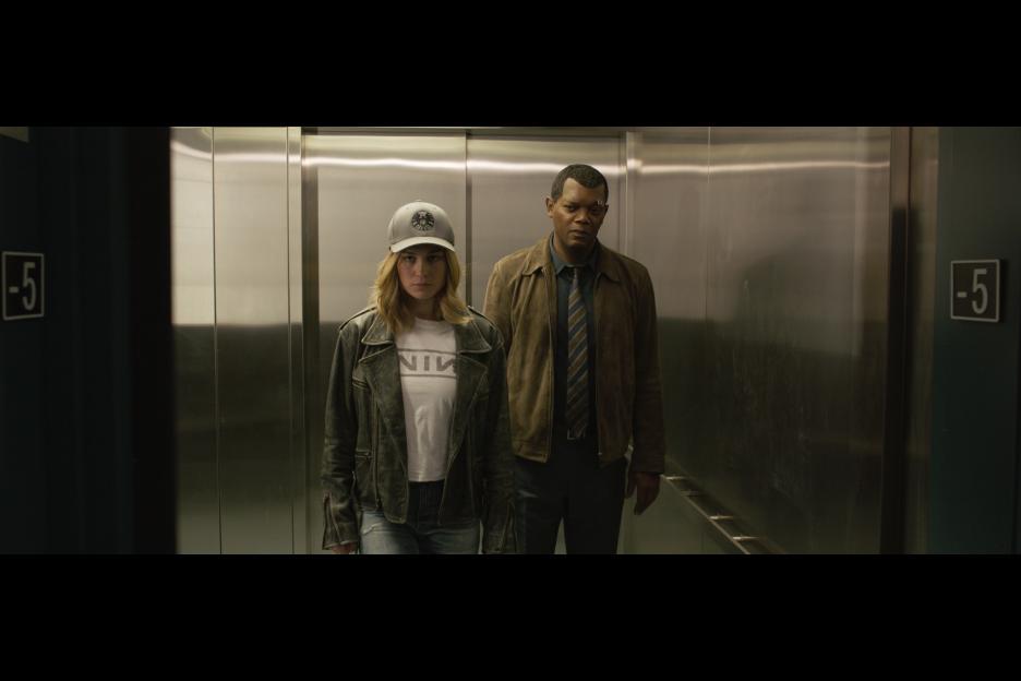 captain marvel fury elevator walt disney studios.jpg