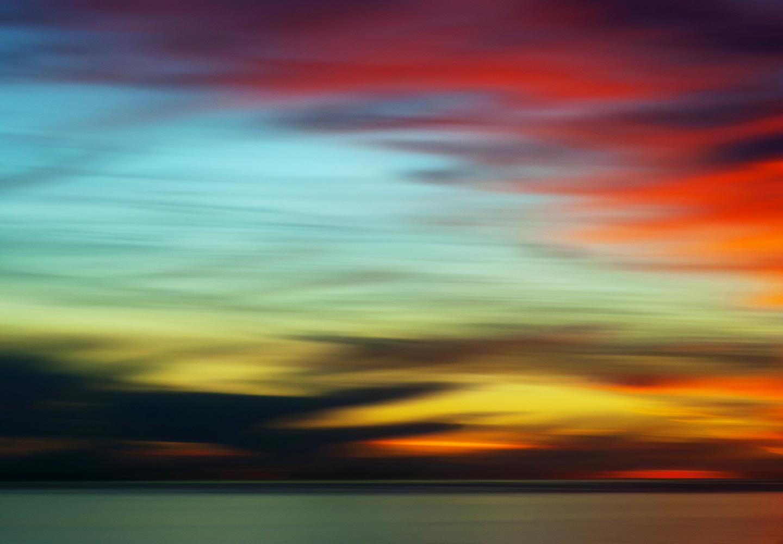 Stunning sunset in Santa Barbara
