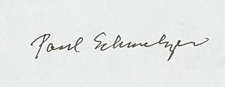 Paul Schmelzer, as signed by Yoko Ono