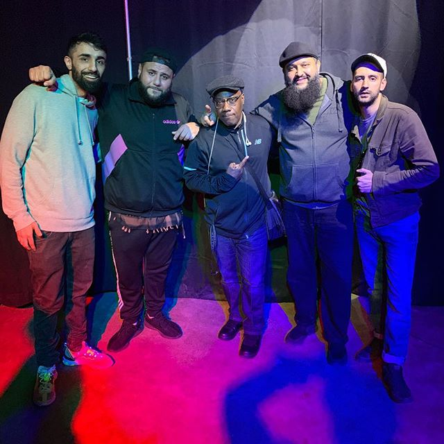 Tuesday night was one of my favorite moments in comedy. Big thanks to @secretgrouphtx for putting on the show. All the members of Allah Made Me Funny were on the show. Felt super cool to be a part of that. Mad love to @realmoamer and @preachermoss for coming through. Shout out to @zahiddewji for hosting and @azharcomedy for closing it out proper!