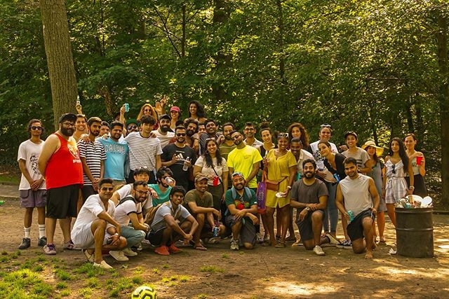 July 21, 2019. We been tryna do this for a long time. A lot of the brown comedians came together for a potluck. Many were missed too. This was so much fun. Everybody was mad happy to be there. Shout out to everybody for playing their part and bringing mad food (especially @pvraj123 samosas). Special shout out to @razor_bliss for getting there early and securing a table. @usamabinlaughin and I did technically set this up but @shimaa_killah did most of the work so thank God for her. We gonna have to make this an annual thing. Of course 📷: @brooklyn_santa #BrownPotluck