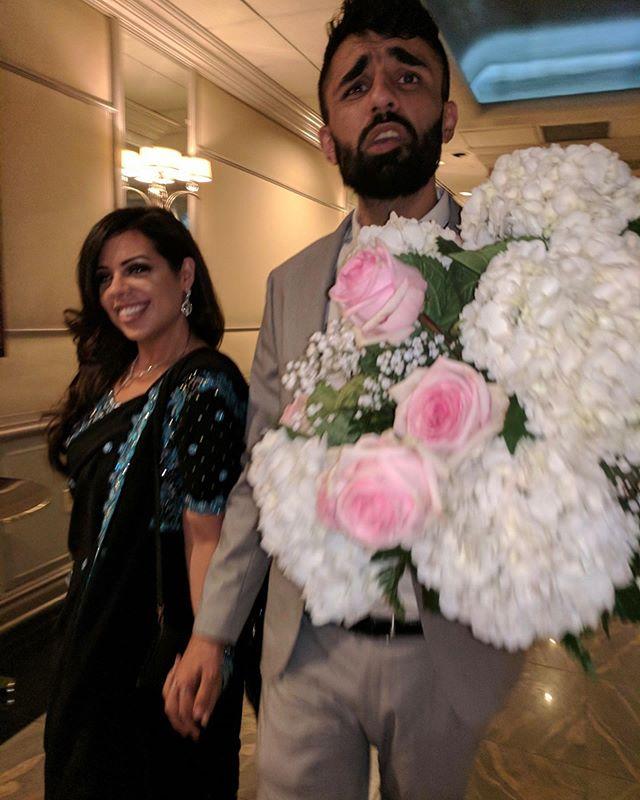 Family wedding wrapped 🕌 , 🗣 ya heard? Congrats to Hunain and Shamila!