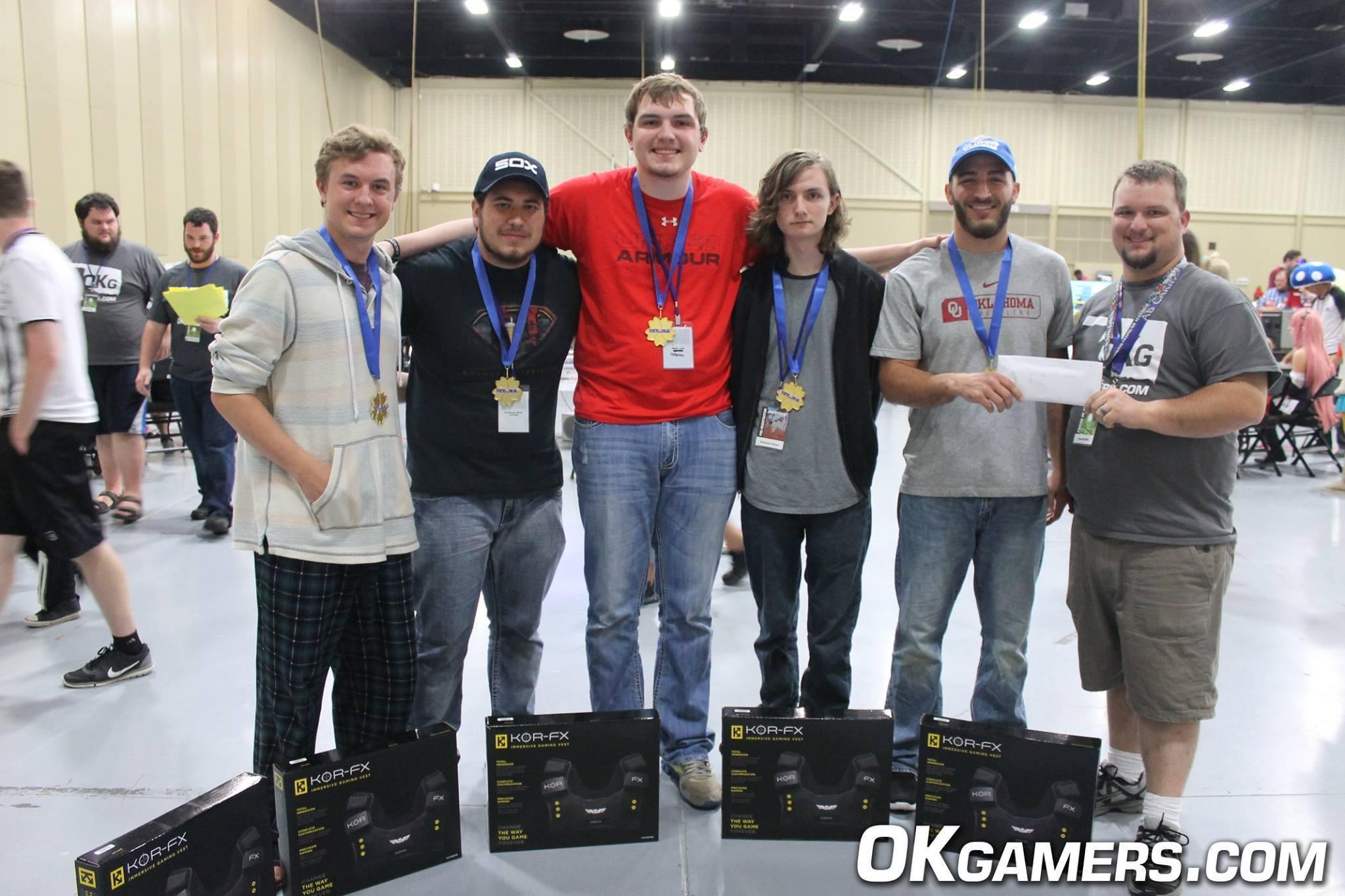 Jack (left) and Team Land Snek won 1st at Tokyo in Tulsa 2016