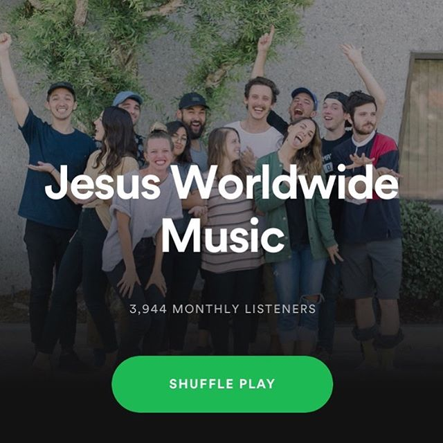 Hi! Are we hanging out together on Spotify? We're on there in case you didn't know. Also, we pray everyone reading this encounters the life changing glory of Jesus Christ and is transformed into his image so we can see the world transformed into looking like Heaven! Let's go, family! You are all giant-slayers!❤️🔥🙌🏻
