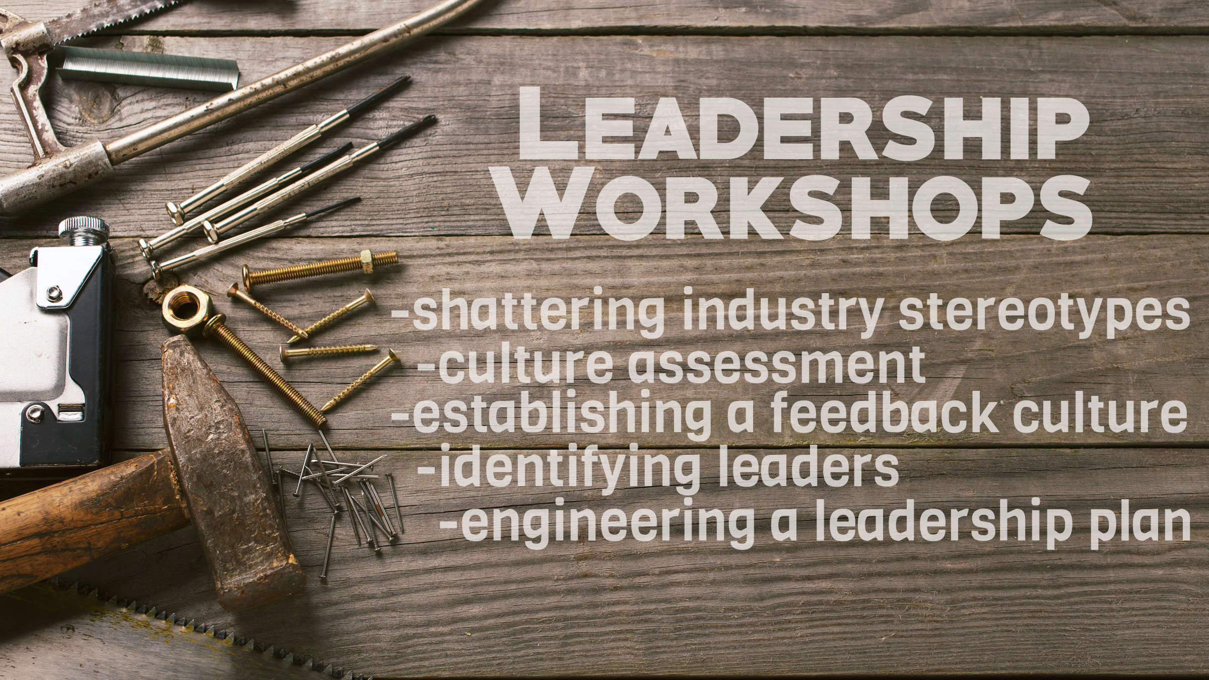 Free lesson on shattering industry stereotypes.