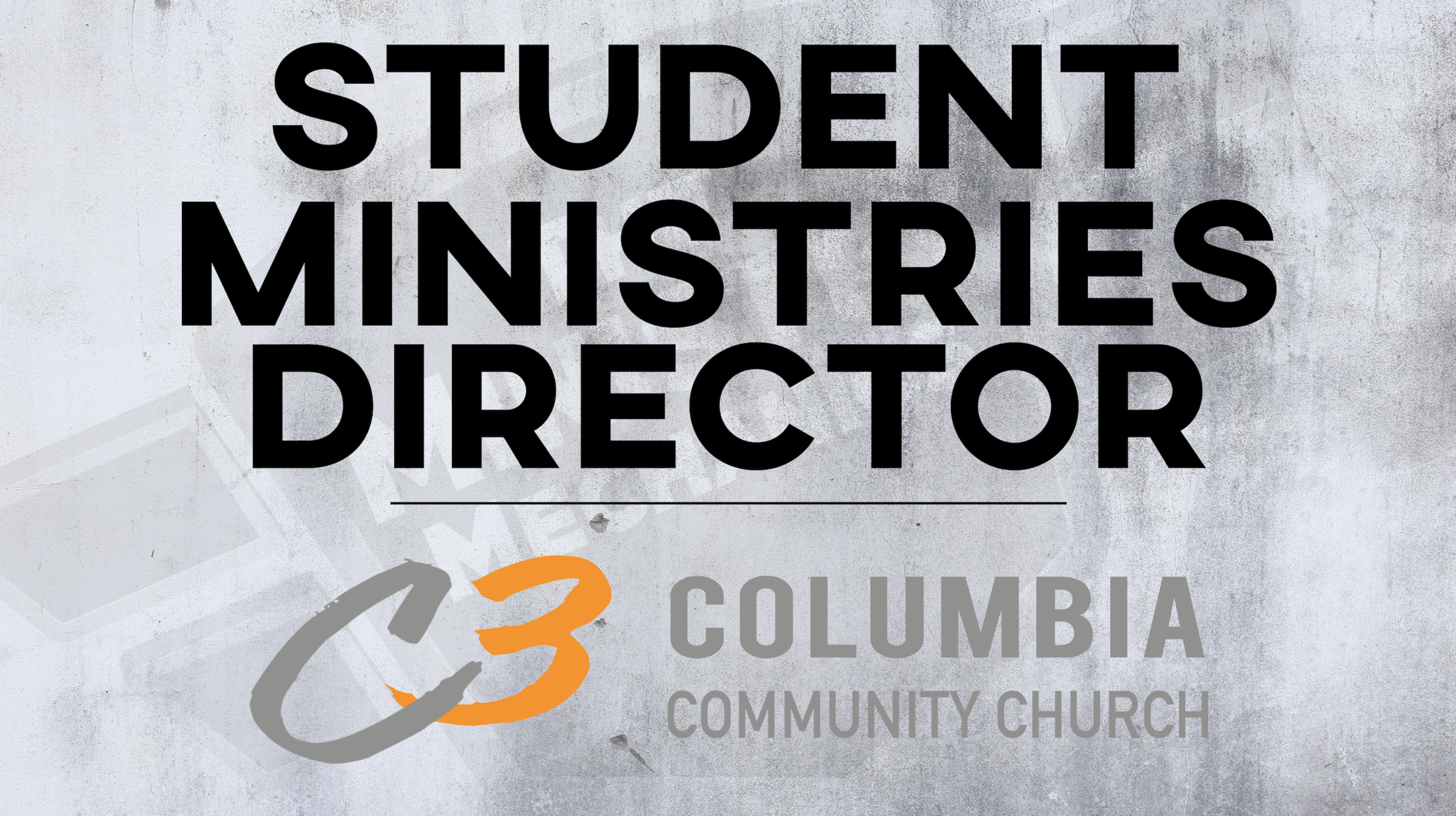 Columbia Community Church Student Ministries Director 16x9.png