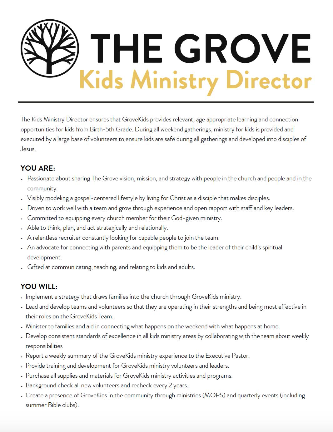 The Grove Kids Ministry Director Job Description.png