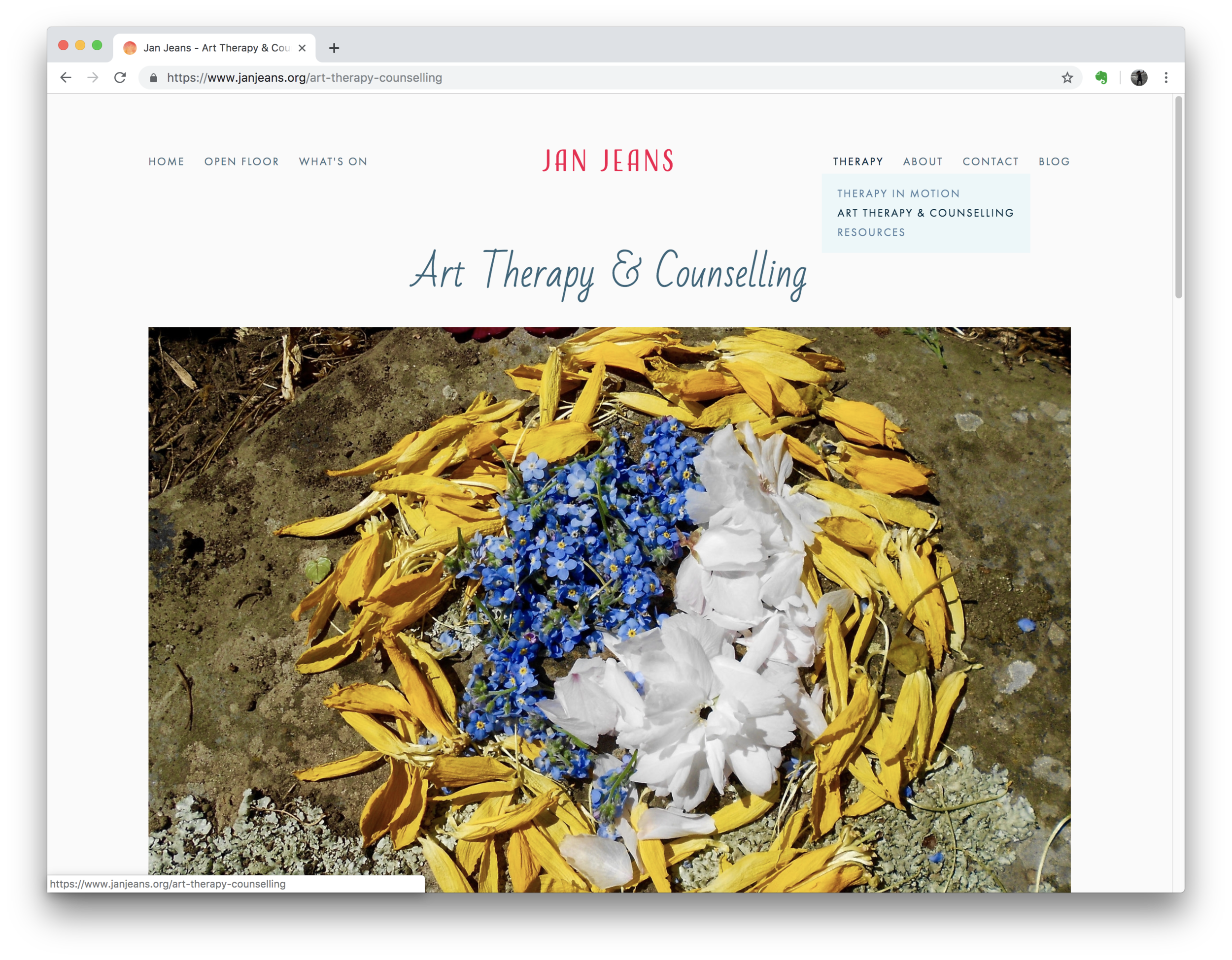 Jan Jeans Website (Squarespace)