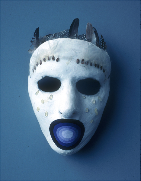 """Silent Scream"" my first mask"
