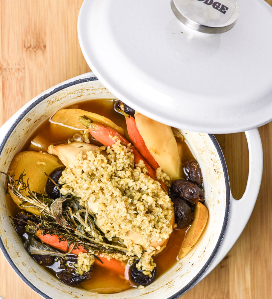 BAKED CHICKEN WITH ROOT VEGETABLES