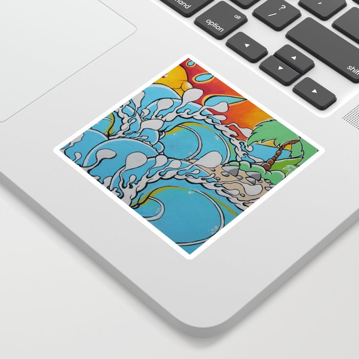 wavy-reef-break-stickers