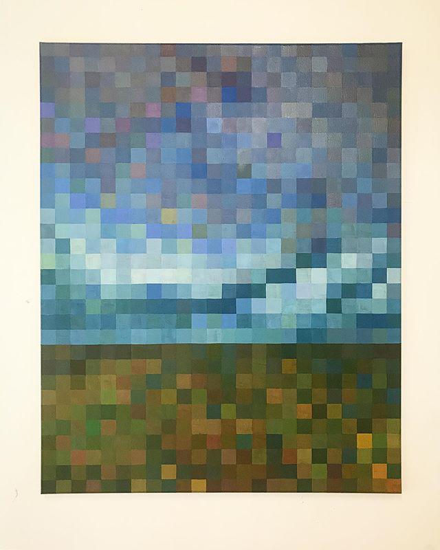 A Quiet Solitude, 30x24, oils on canvas