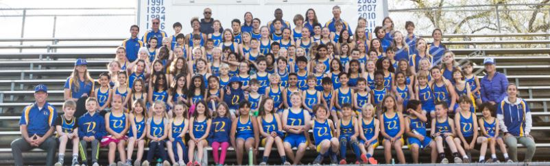 Members of our 2019 Ojai Roadrunners Youth Track & Field Club!