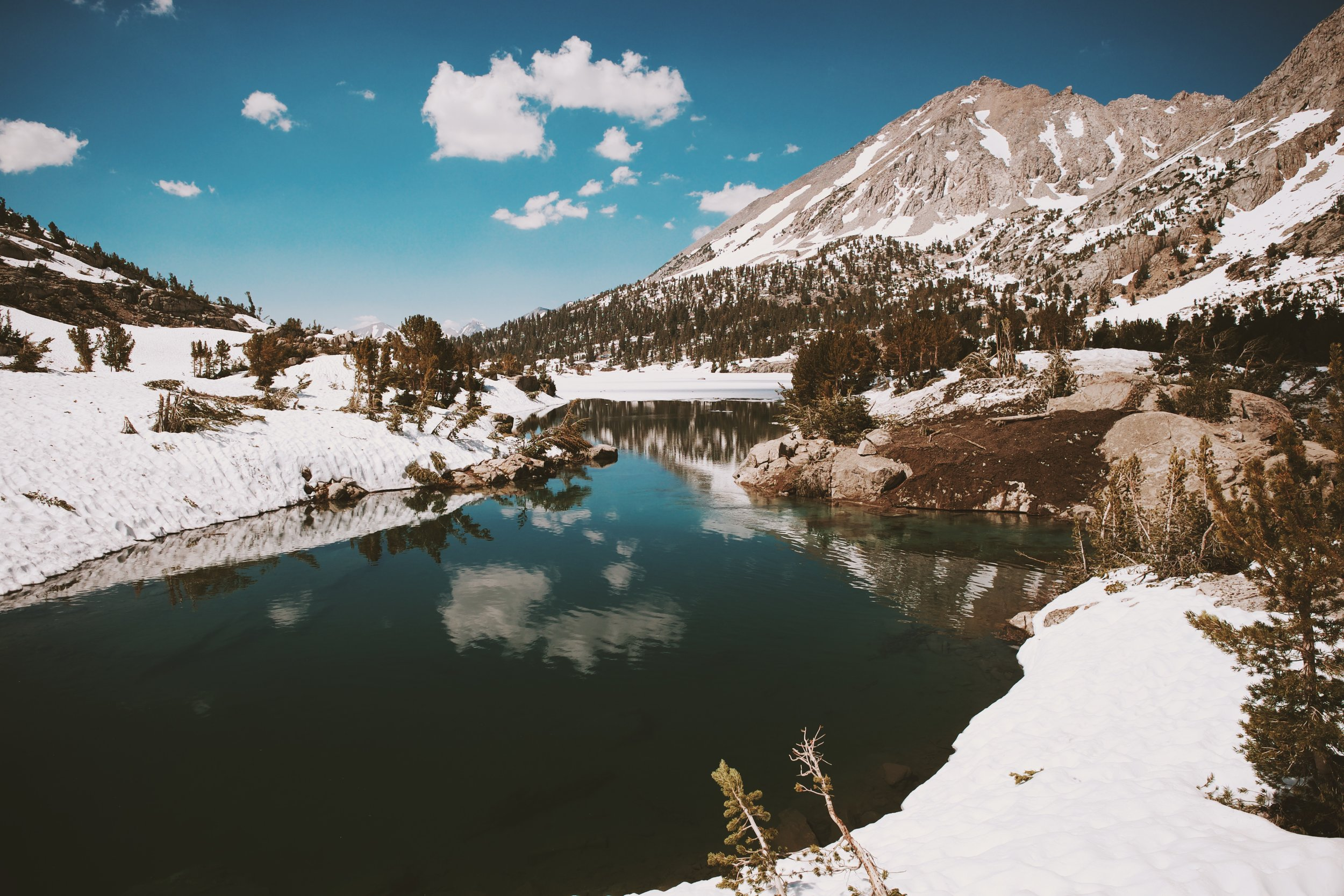 Rae lakes: beautiful but rude to walk through