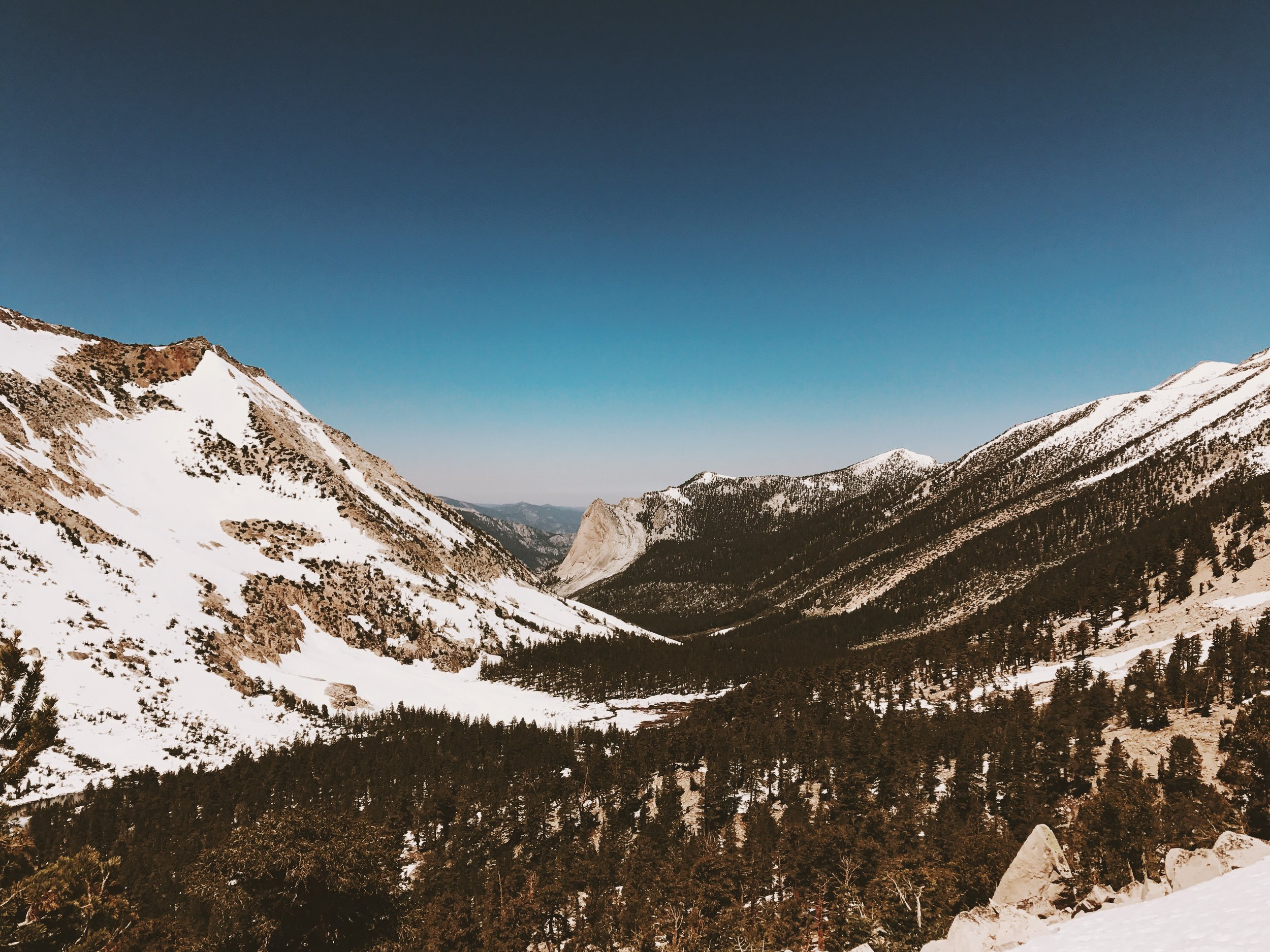 Kearsarge Pass let's you see things