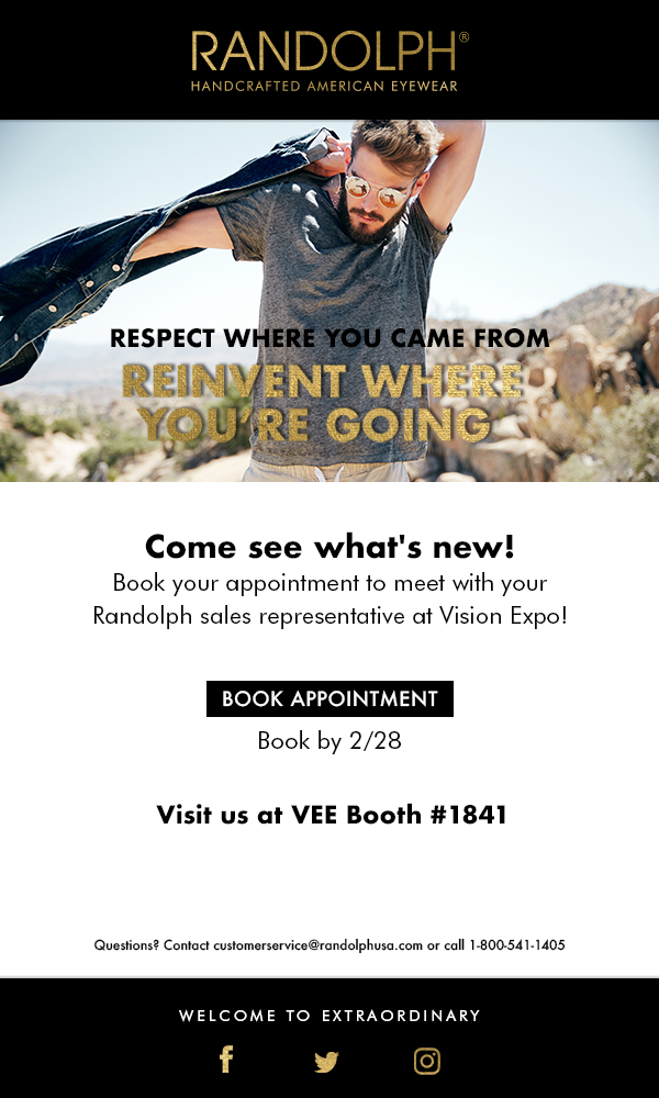Email series to promote their exhibit at VEE.