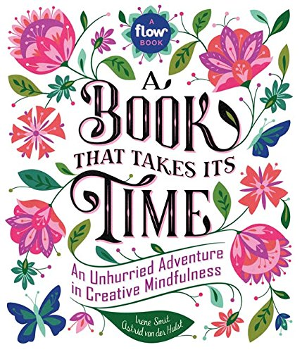 "a book that takes its time  This interactive book is perfect for taking some ""me time"" and diving into some creative projects, journaling and reading. a great gift for any creative mind."