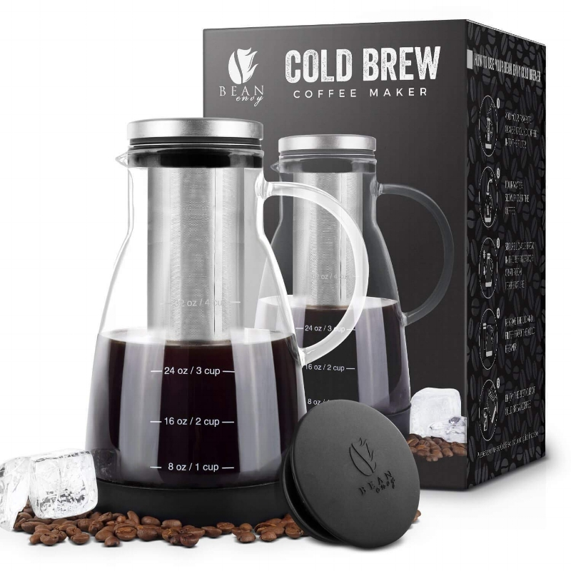 cold brew coffee maker  if you're anything like me I need some caffeine close by at all times. this cold brew maker is perfect for at home, in the studio or at the office. don't let an empty cup curb your creative flow!