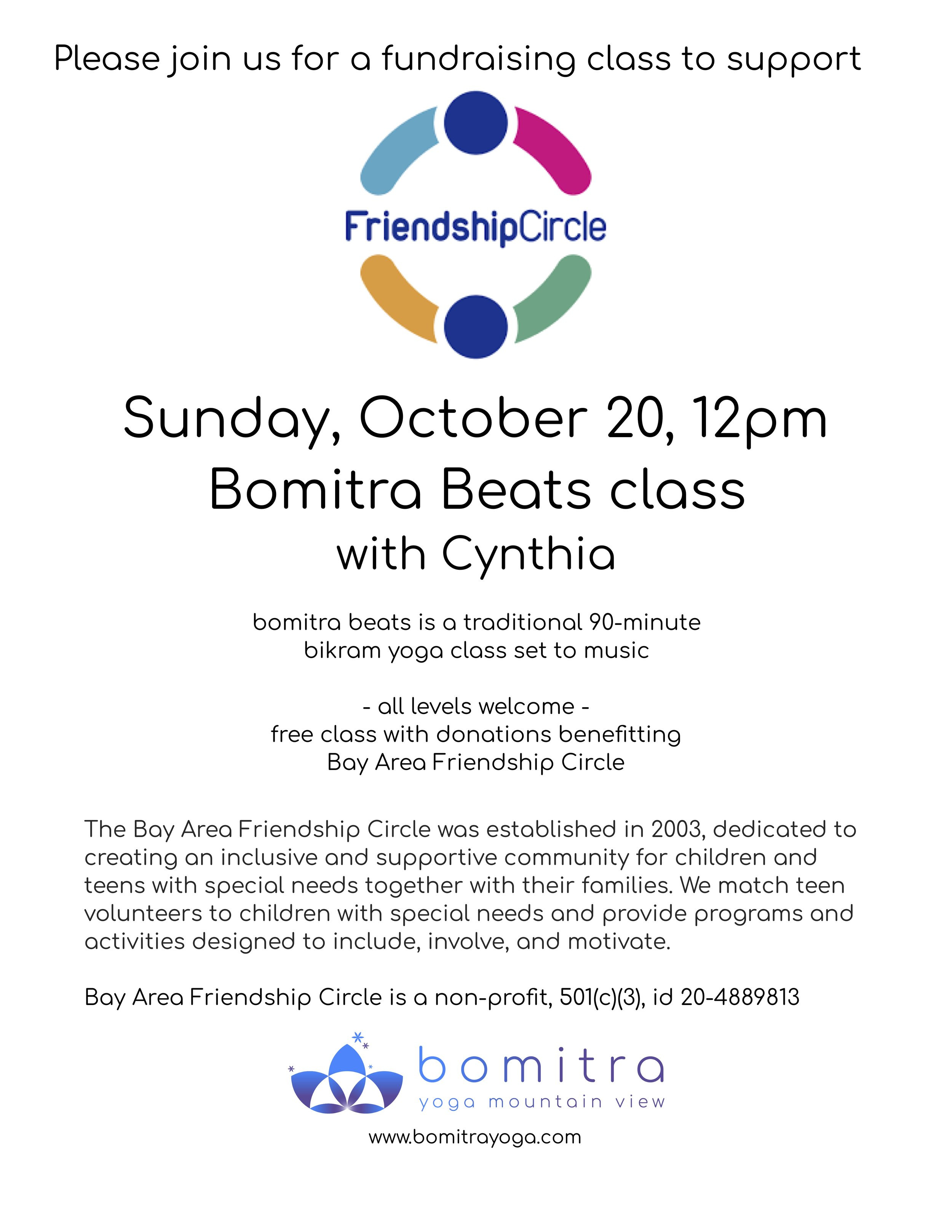 Learn more about the Bay Area Friendship Circle  here .