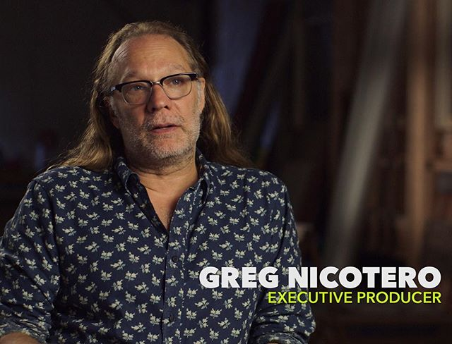 Male Grooming on the Legendary @gregnicotero for the behind the scenes content, for the Blu-Ray Release of Season 7 of The Walking Dead! 🎨🙌🏻🙈❤️ I don't typically get nervous to work with anyone, & I've had the privilege of working with some pretty Big Names In Hollywood. However, this day I was so unbelievably nervous!! 🙈 He is literally a pioneer in the Makeup/Special Effects World.... Creating some of the most Iconic Looks in television & film history!! 🎥🎨📺🎬 I guess it was just the thought of doing makeup on another makeup artist of his magnitude 😳🙌🏻💯 It turned out to be one of the coolest experiences though! After we wrapped filming he had his assistant take me back into the shop, where he took me on a private tour of the makeup Department for The Walking Dead. It was so amazing to see what all goes into creating the zombies & different characters for the show!! This Day will definitely go down in the books as EPIC!😍🙌🏻❤️🙏🏻 @thewalkingdead #theWalkDead #makeup #makeupartist #makeupjunkie #lasvegasmakeupartist #specialeffectsmakeup #specialeffects #SFX #sfxmakeup  #malegrooming #lasvegasmakeupartist #vegasmakeupartist #shoot #BTS #hollywood #SoLA ✌🏻️