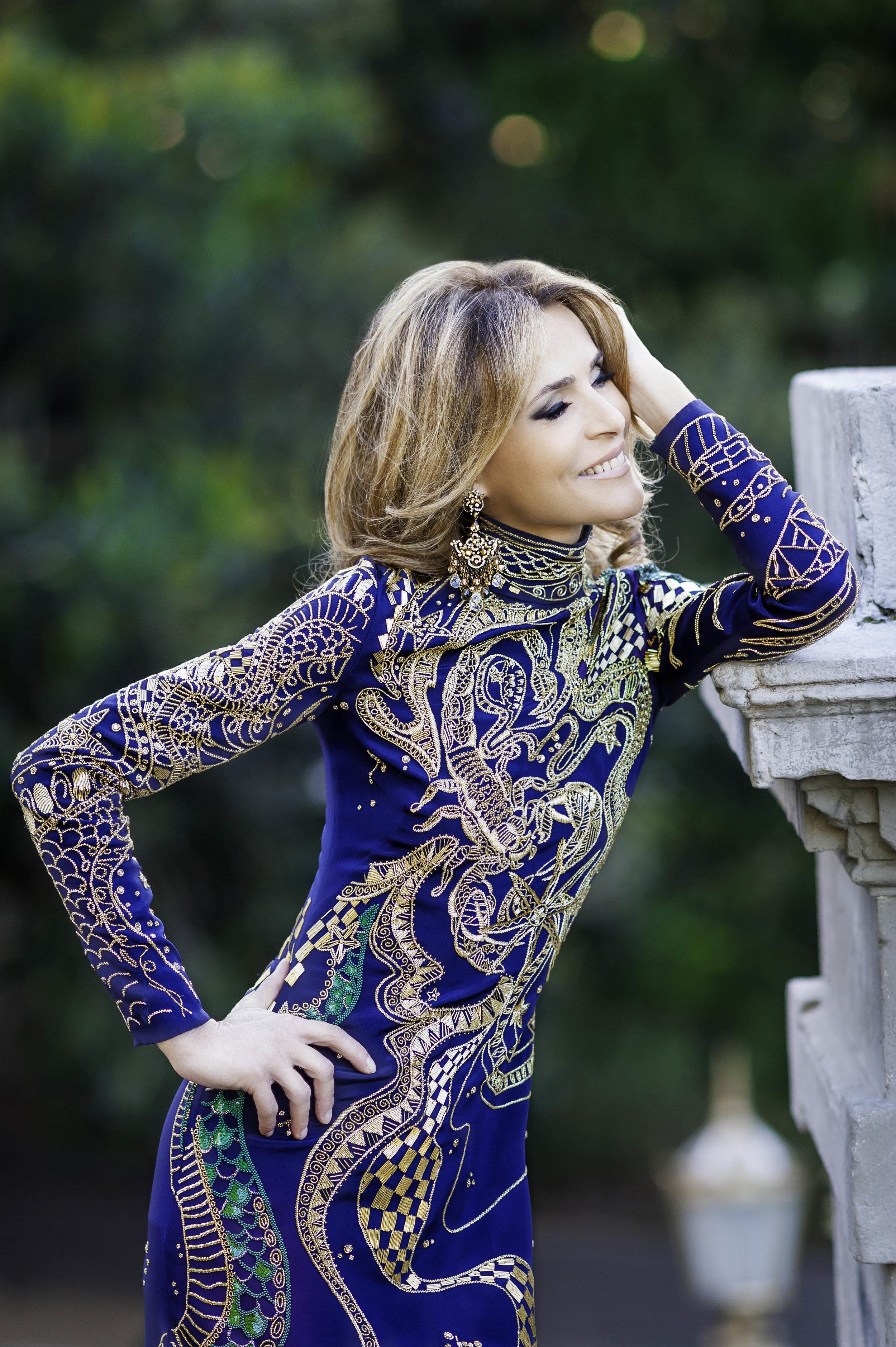 Emilio Pucci  Zodiac Printed Dress