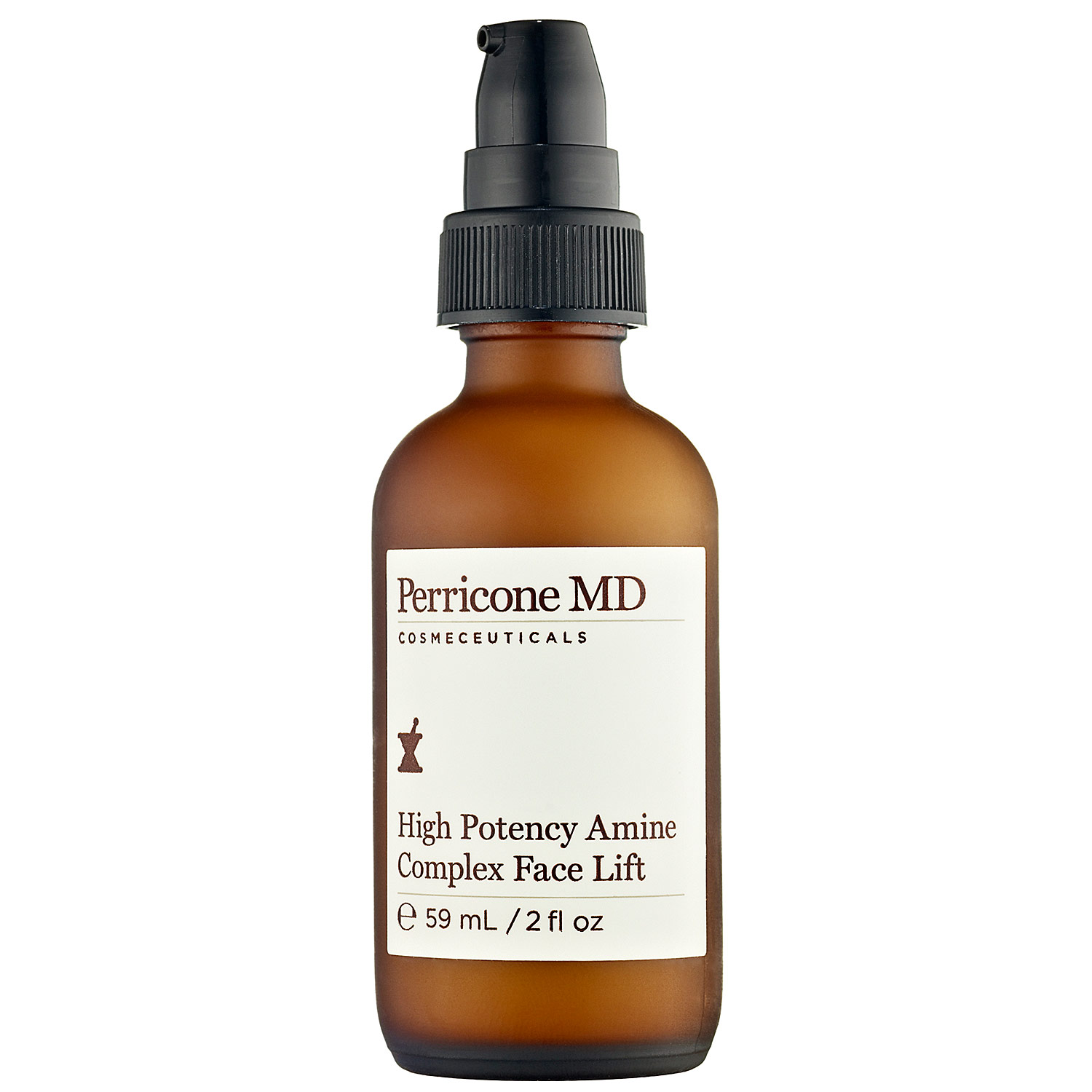 "High Potency Amine Complex Face Lift by Perricone MD  Con vitamina C y DMAE, High Potency es un tratamiento altamente concentrado para afirmar y tonificar el cutis, mientras reduce los daños provocados por el sol. Es uno de los ""must have"" esencial para una piel divina."