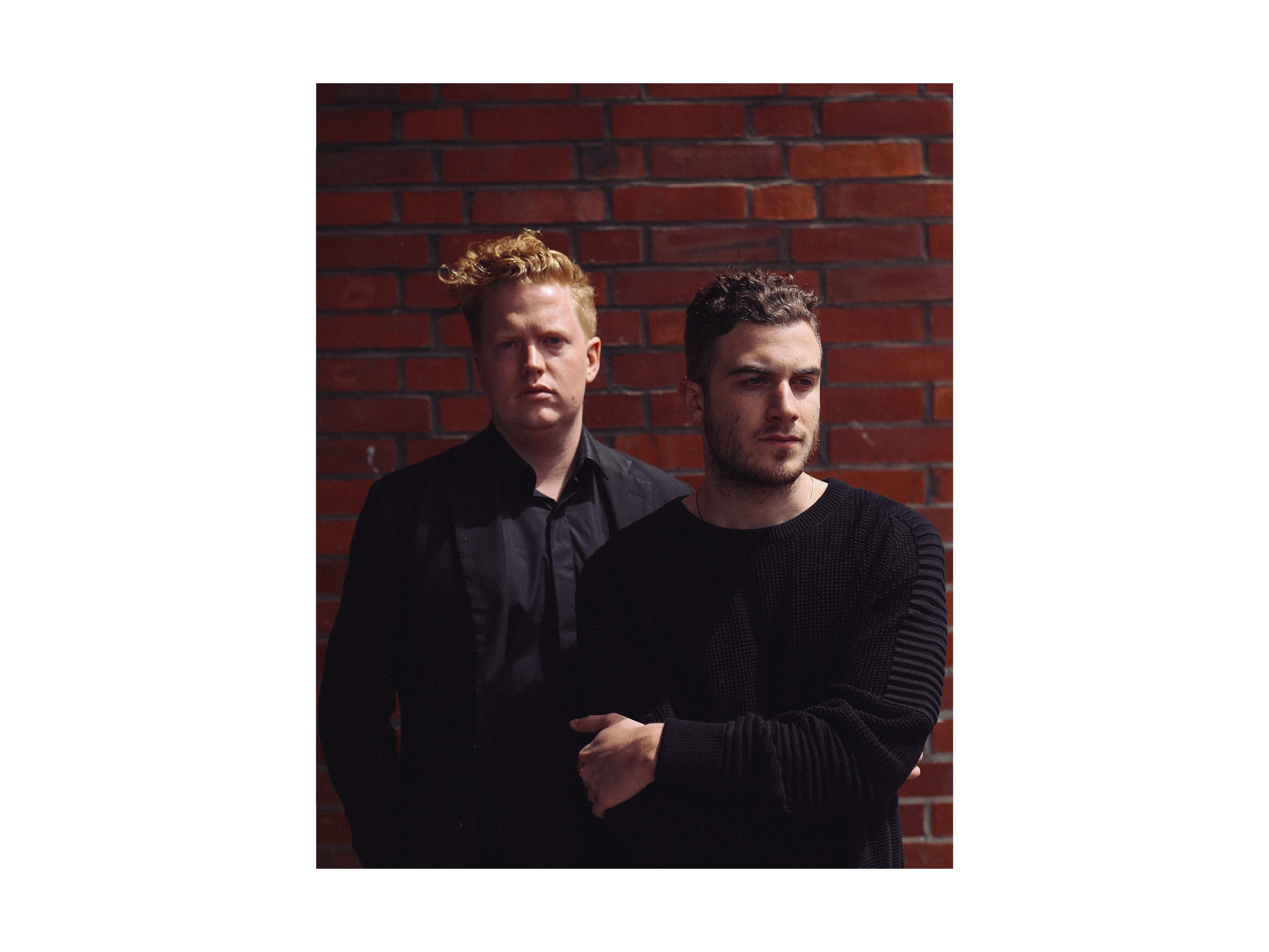 Dave Harrington and Nicolas Jaar, 2014, Berlin  Klok Magazine Issue 7