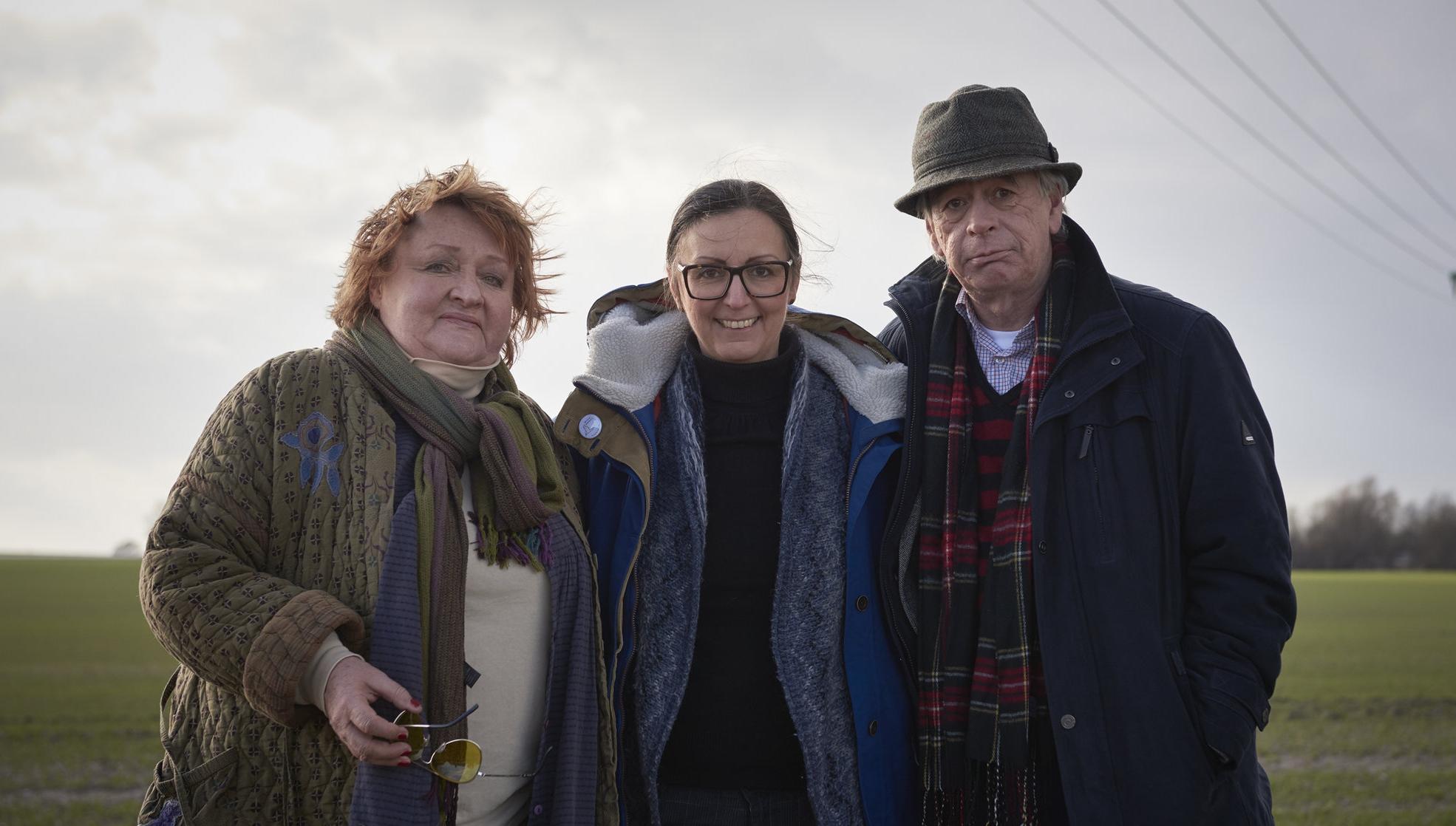 Marianne Mörck, Thérèse Ahlbeck och Kryddan Peterson.