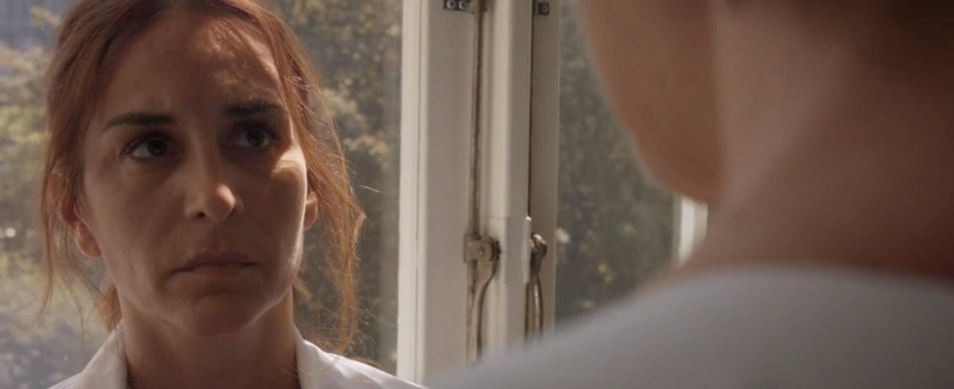 "Actor Alexandra Rapaport (Helena) on set of the pilot for ""Eggs, Flour and Sugar"". Tiny Lumberjack copyright."