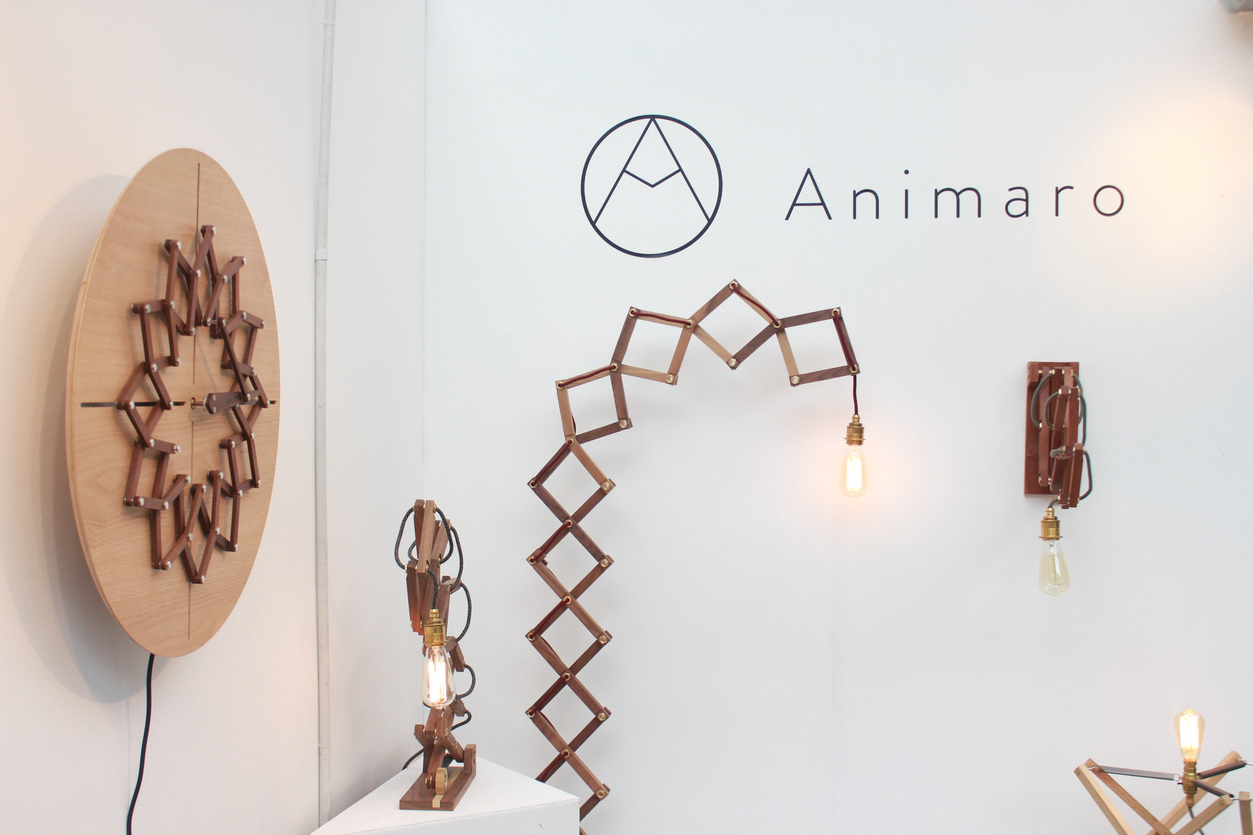Shot of the Animaro stand at Pulse 2018