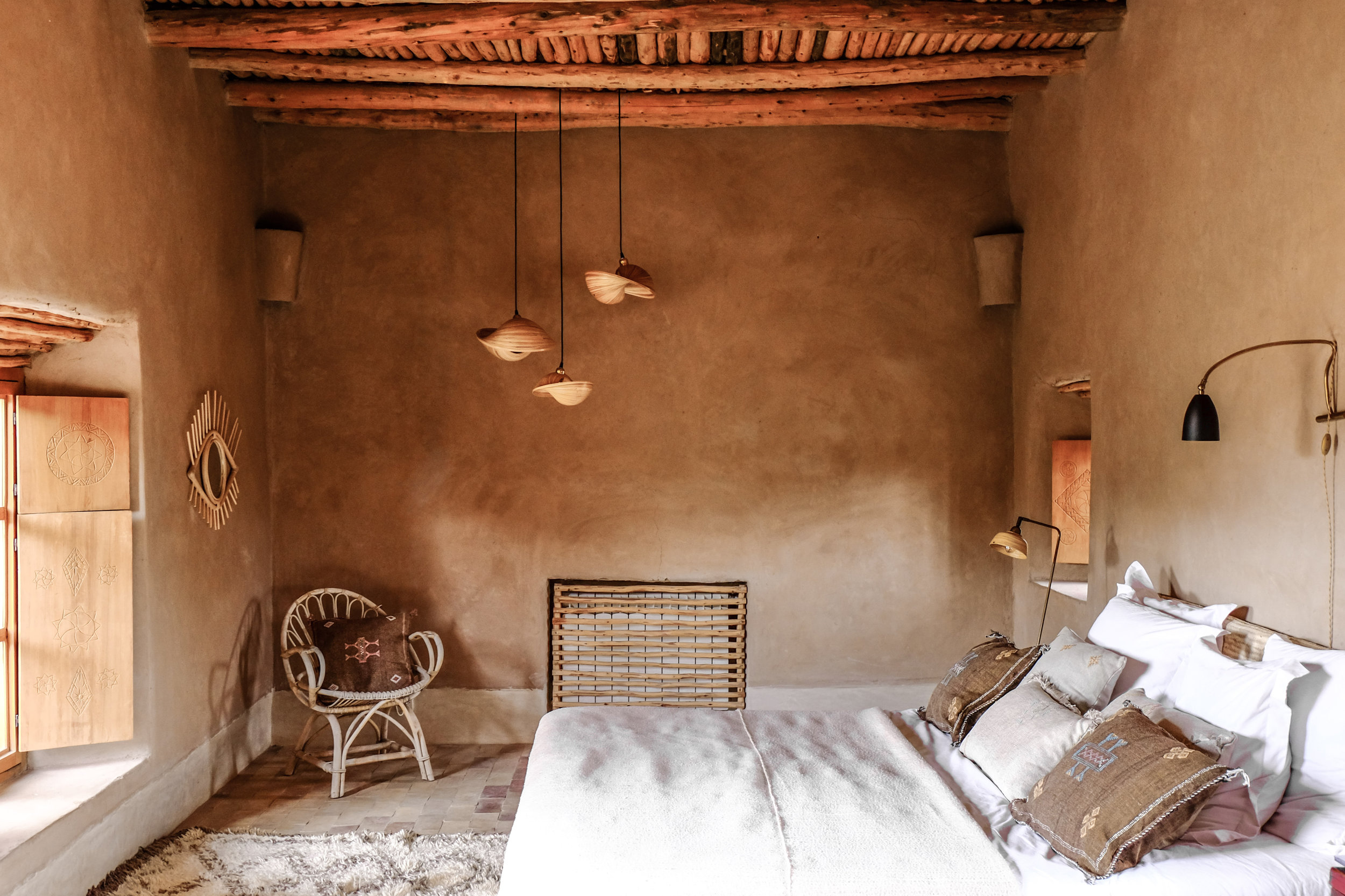 MIRRORS - handmade contemporary rattan and brass mirrors . each mirror is designed by Laith + Leila with quality and care.