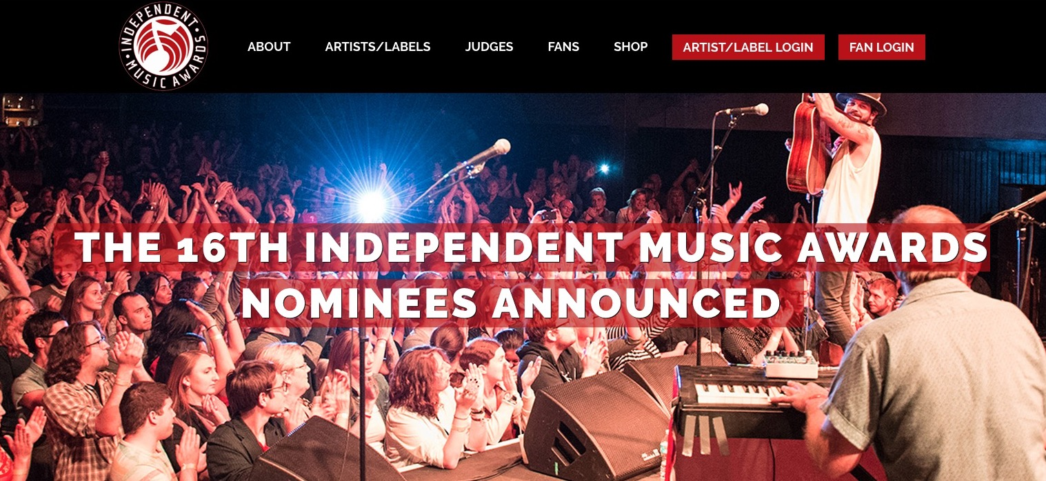 - NY February 13, 2018 Music Resource Group announced the Nominees in The 16th annual Independent Music Awards (The IMAs) The winning projects will be selected by judging panels of top recording artists including: Tom Waits, Slayer, Bakithi Kumalo, Michael W. Smith, Sepultura, Amy Lee [Evanescence] among many others; and influential press and talent buyers from the Americas, Europe and Pacific Rim.